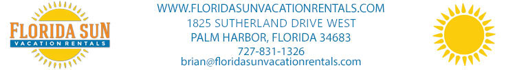 Florida Sun Vacation Rentals email header